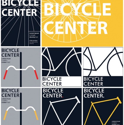 Visual appearance and marketing of the Bicycle Centre
