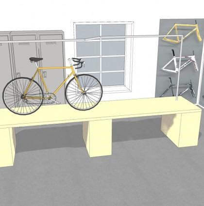 Tila- ja palvelusuunnitelmia Malmin pyöräkeskukselle