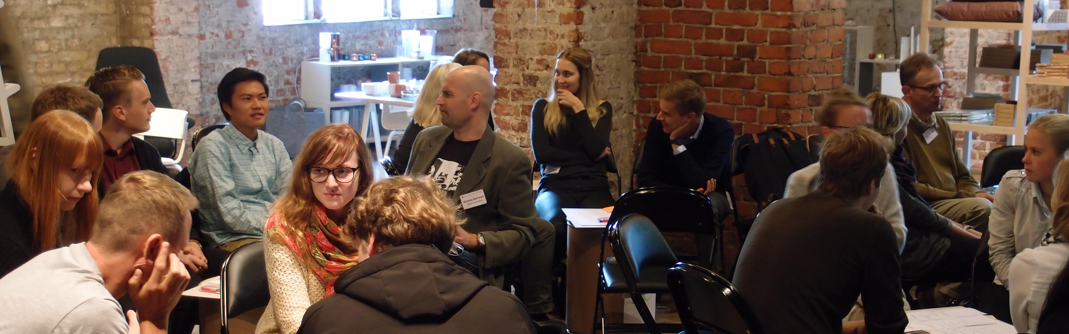 Liikkuvan arjen työhuone 2013 kokosi yhteen kaupunkisuunnittelijat, opiskelijat ja pyöräilyaktiivit