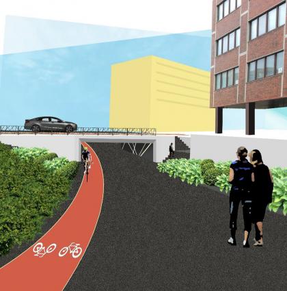 Pohjois-Haagan aseman pyöräilypalvelut